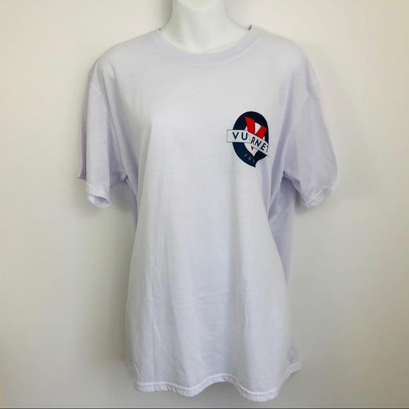Retro 90s Style Vuarnet T-shirt Soft 100% Cotton L